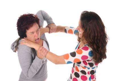 Sisters Fighting