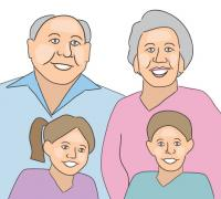 Grandparent Clip Art