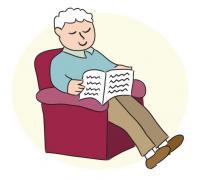 Grandpa in Chair