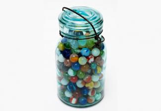 jar of marbles