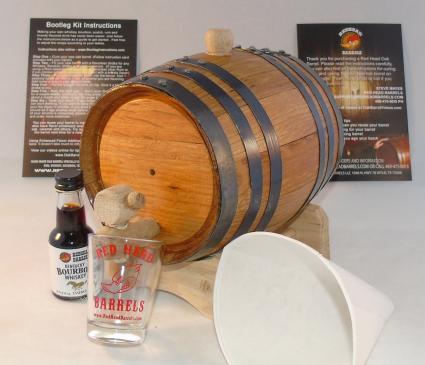 Red Head Bootleg Whiskey Making Kit