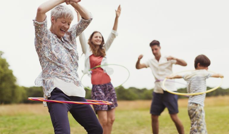 Family Picnic Games - Croquet