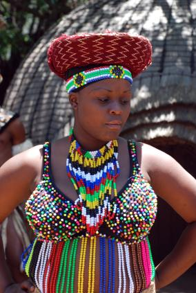 Beads | LoveToKnow Traditional African Fashion Headdress