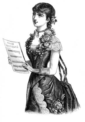 Victorian singer
