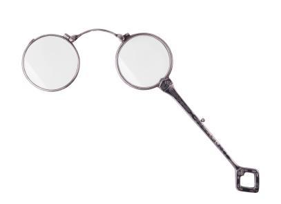 lorgnette, vintage eyeglasses