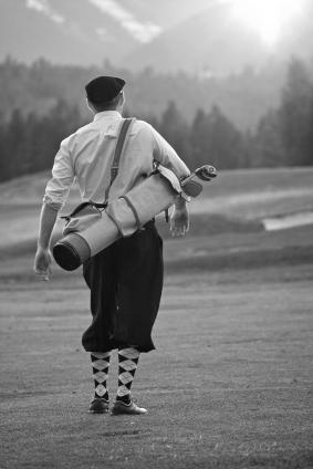 Retro golf clothing