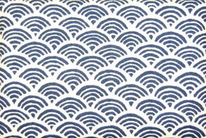 Indigo dyed Japanese cloth