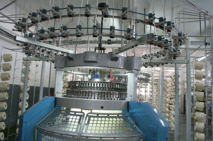 Knitting machinery