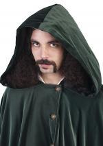 Man wearing hood