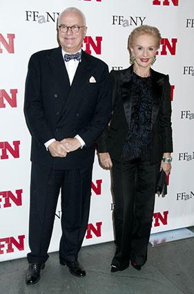 Manolo Blahnik and Carolina Herrera