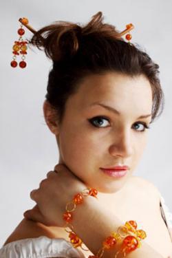 Decorative hair pin
