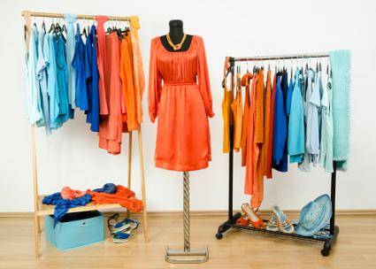 complementary color wardrobe