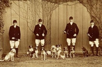 Hunters circa 1910