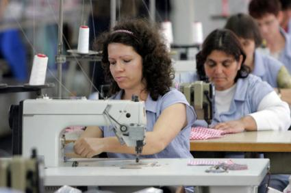 Clothing Factory workers