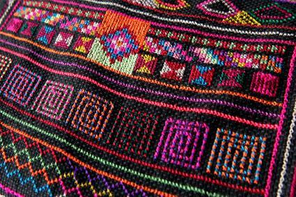 Tibetan textile design