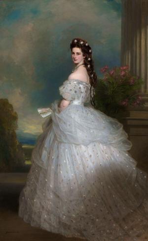 Elisabeth of Austria, by Franz Xaver Winterhalter