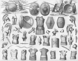 Etruscan and Greek Warrior Outfits