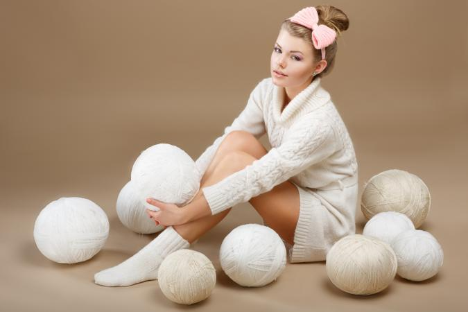 Crochet femininity
