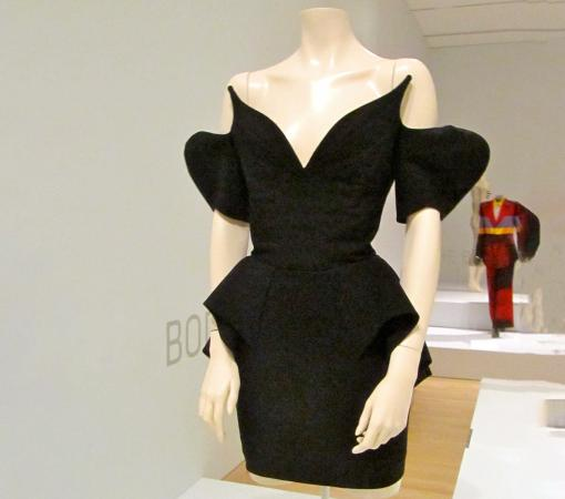 An evening dress by Thierry Mugler at the Indianapolis Museum of Art