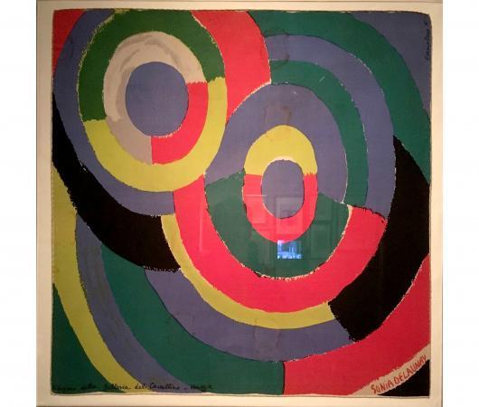 """Sonia Delaunay, """"Tondo"""", 1962"""