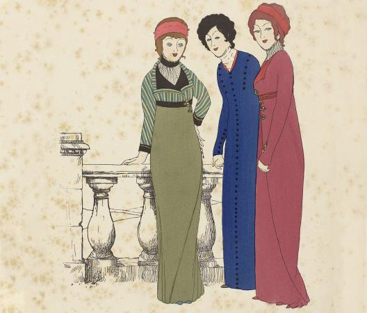 Les Robes de Paul Poiret Racontée par Paul Iribe (The Gowns of Paul Poiret by Paul Iribe), anonymous, 1908