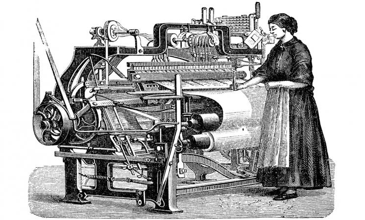 Power loom 1882