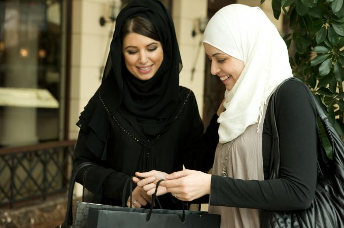 Two Arab women