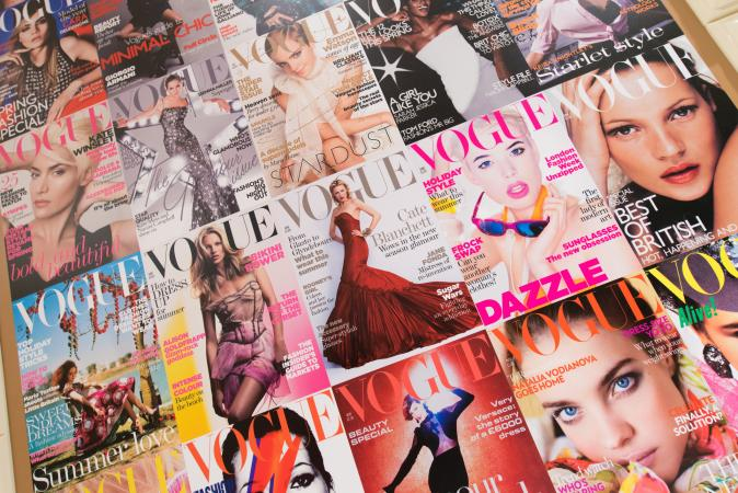 Vogue magazines
