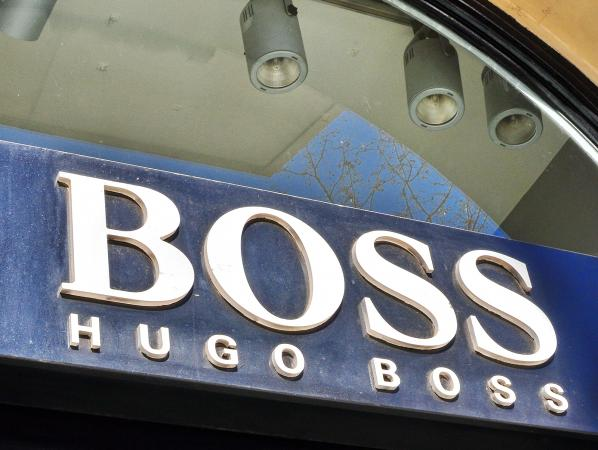 Hugo Boss fashion house logo