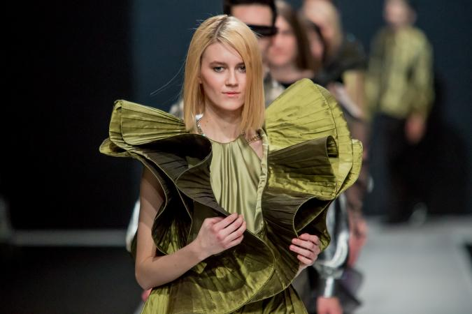 Pierre Cardin fashion show