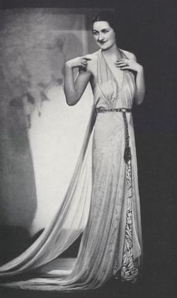 Callot Soeurs Tea Gown 1933 Paris