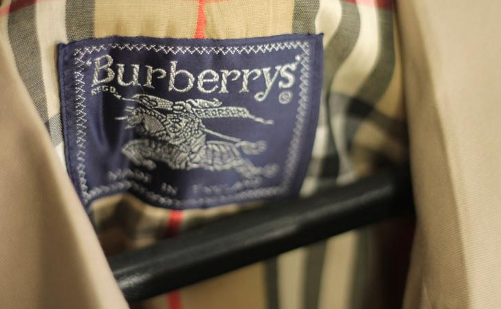 Burberry Trench Label