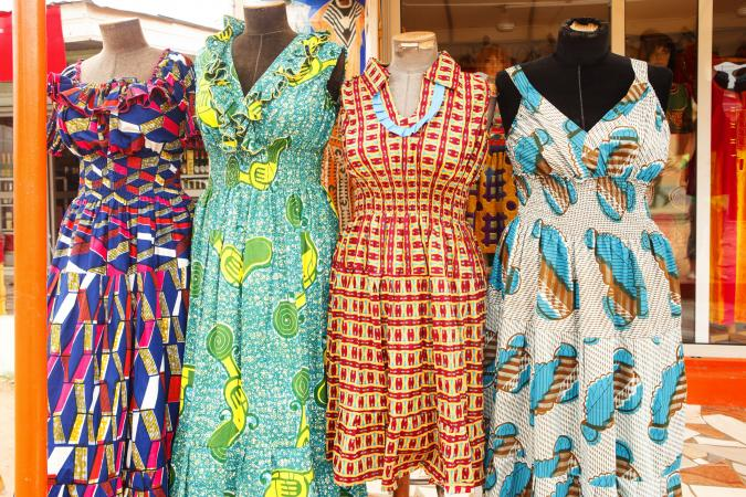 Ghanan dresses