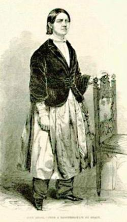 Lucy Stone in Bloomers