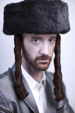 orthodox Hasdim Jewish man