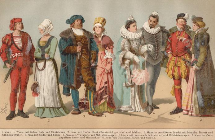 1600s fashion