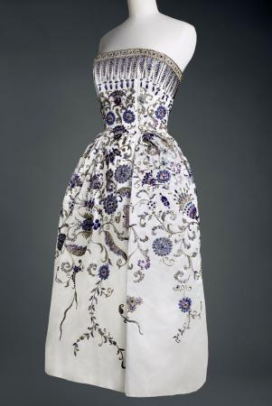 """Palmyre"" evening gown by Christian Dior"