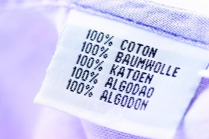 cotton label indifferet languages
