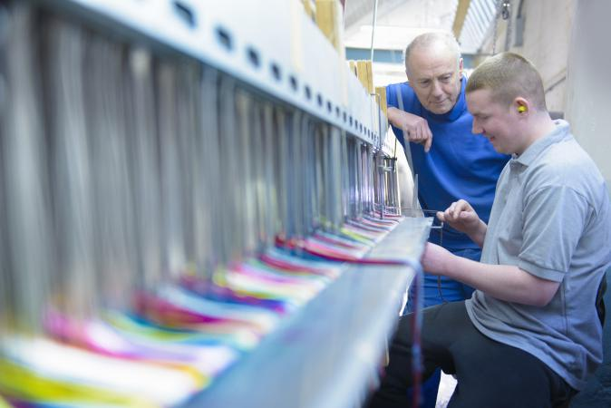 learning on the loom