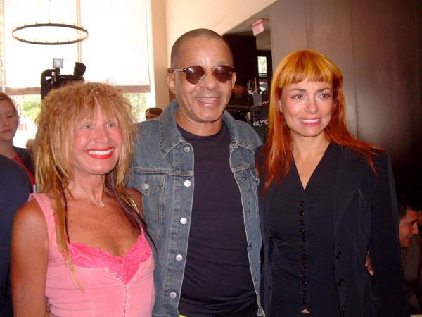Betsey Johnson, Stephen Burrows, Norma Kamali at the inductions for the 2002 Fashion Walk of Fame