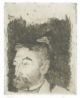 Portrait by Gauguin