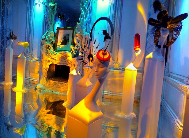 "Philip Treacy's exhibition ""Hats in the 21st Century"" at the House of Chertkov"