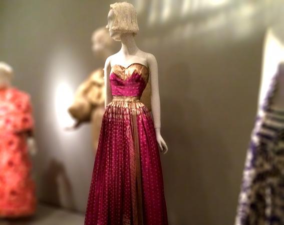 Mainbocher evening dress, 1950