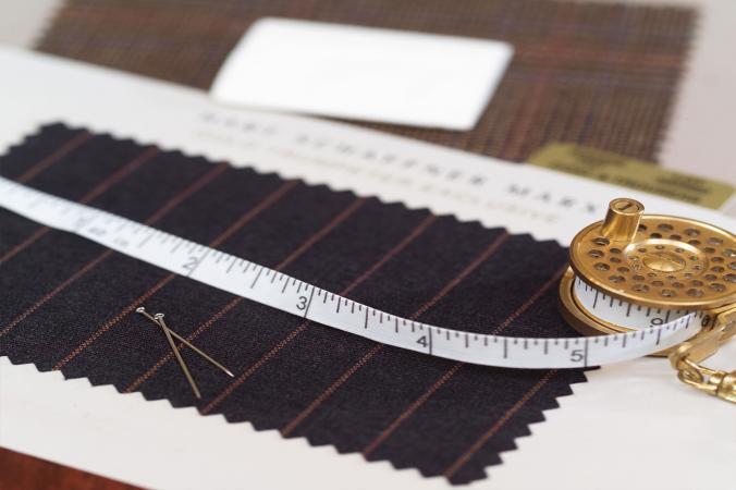 Gabardine suit fabric