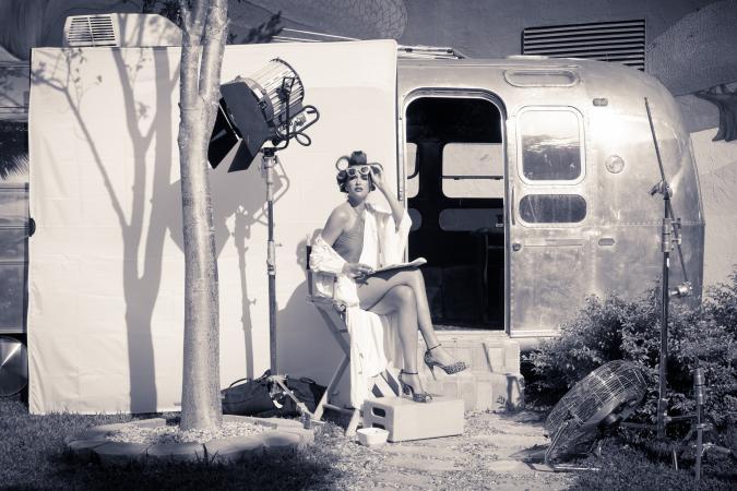 vintage Hollywood starlet
