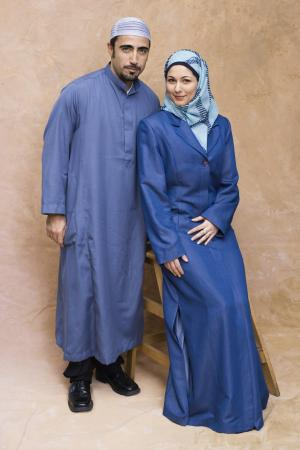 Turkish man and Iranian woman