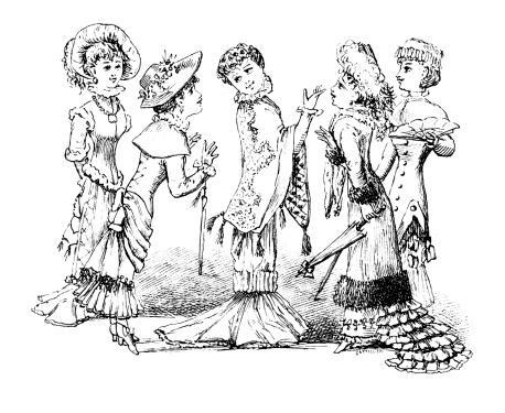 New York fashion Caricature