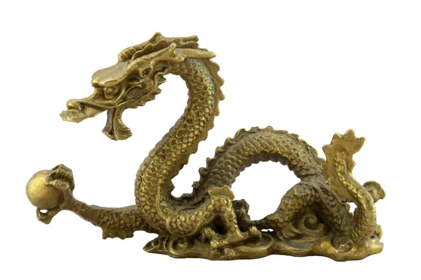 dragon with pearl chinese feng shui dragon