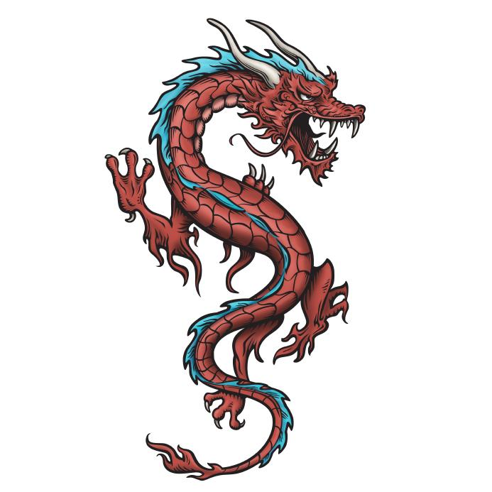 powerful dragons chinese feng shui dragon