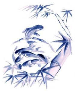 Feng shui artwork